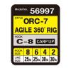 OWNER Оснастка готовая карповая ORC-7 Agile 360° rig №4 30lb 17см 2шт