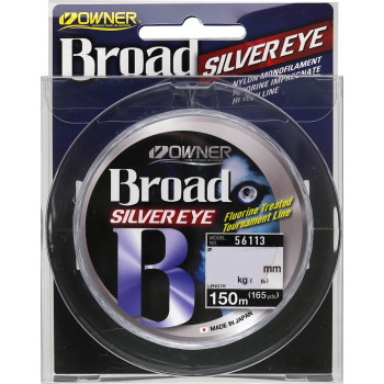 OWNER Леска Broad Silver Eye 150м 0,10мм 1кг