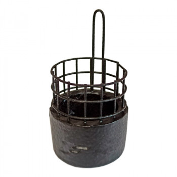 FLAGMAN Кормушка фидерная Пуля большая колодец сетка 13х5мм 45г