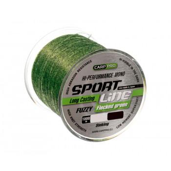 CARP PRO Леска Sport Line Flecked Green 1000м 0,351мм