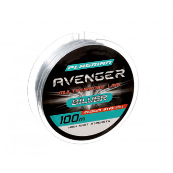 FLAGMAN Леска Avenger Silver Line 100м 0,50мм