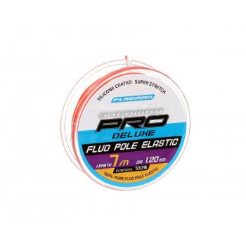 FLAGMAN Амортизатор для штекера Deluxe Fluo Pole Elastic 7м d1,2мм red