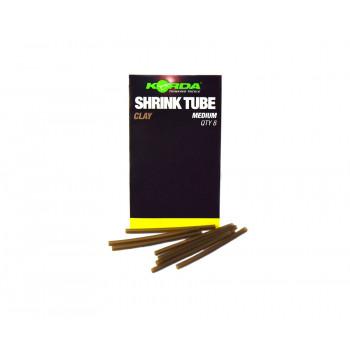 KORDA Трубка термоусадочная Shrink Tube Brown 1,2мм