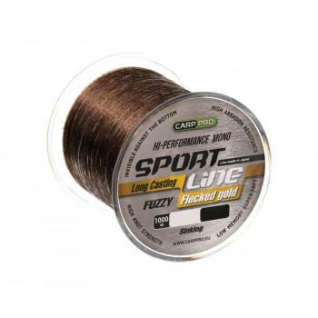 CARP PRO Леска Sport Line Flecked Gold 1000м 0,335мм