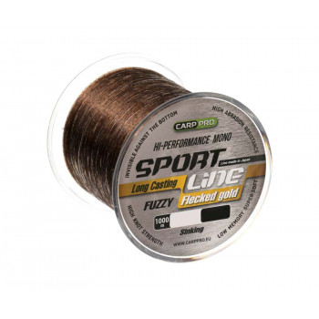 CARP PRO Леска Sport Line Flecked Gold 1000м 0,265мм