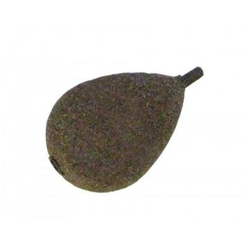 KORDA Грузило Flatliner Pear Inline 3,5oz 100г