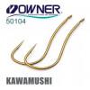 OWNER Крючок Kawamushi brown №8 14шт