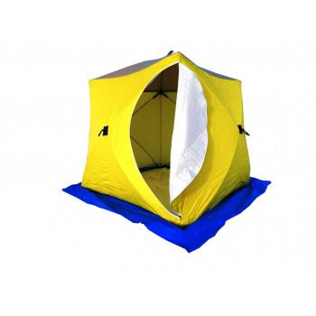 Зимняя палатка Стэк Куб 3 трехслойная (дышащая)